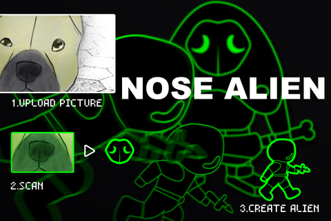 NOSE-ALIEN(french bulldog.ver)